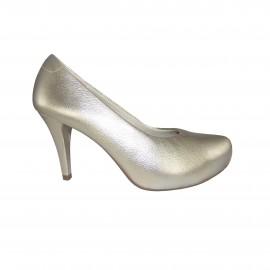 Sapato Usaflex Dourado