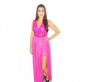 Vestido 2 em 1 Rosa Pink